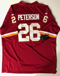 *****BRAND NEW, STITCHED, ADRIAN PETERSON #26 REDSKINS JERSEY***** Herndon, 20170