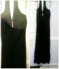 Long black dress Hubert, 28539
