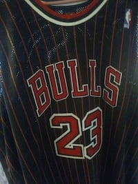 black and red Chicago Bulls 23 jersey Greencastle, 46135