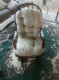 brown and  wooden rocking chair $45  Downey, 90240