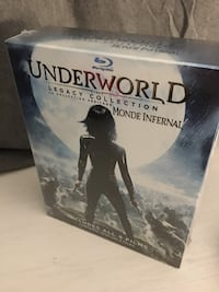 Underworld 1-4 Blu ray legacy collection. Brand new Innisfil