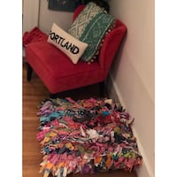 """Urban outfitters floor pillow poof 30"""" x 30"""" large Portland, 97209"""