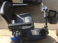 black and blue mobility scooter Inver Grove Heights, 55076