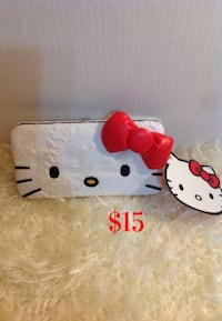 Hello kitty wallet : brand new w/tag