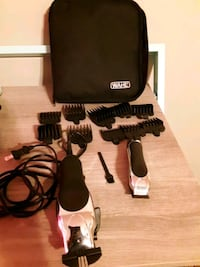Wahl clippers  with extra  conair clippers