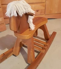 "12"" high wooden rocking horse Waterloo, N2T 0A1"