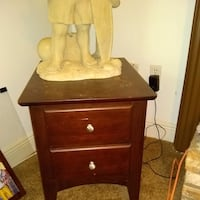 Two Solid Wood End Tables DAYTONABEACH