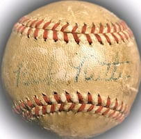 Authentic Babe Ruth  signed autographed baseball