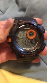 round black Casio G-Shock digital watch Indianapolis, 46227