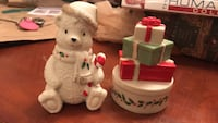 LENOX holiday salt and paper shaker