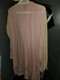 women's pink long-sleeved dress 3724 km