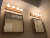 brown wooden framed wall mirror Worcester, 01603