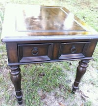 ☆USED END TABLE / NIGHTSTAND WITH DRAWER☆