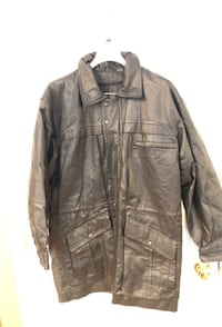Seventh Avenue Men's leather coat size medium Manassas