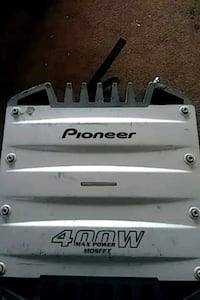 Pioneer amp 400 watts 4 channel for checking it Palmdale, 93551