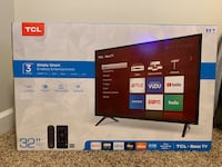 "NEW TCL 32"" ROKU SMART TV"
