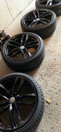 Audi Replica 19inch Wheels with Pirelli Sottozero3
