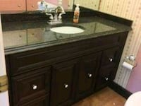 BATHROOM VANITY WITH TOP & SINK
