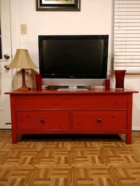 Solid wood TV stand/storage bench with 2 big drawe Annandale, 22003