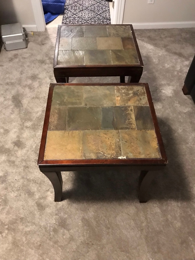 Swipe To See More Info. End Tables