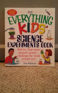 The Everything Kids Science Experiment book 2245 mi