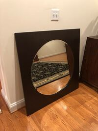 Black and brown wooden framed mirror Bethesda, 20817