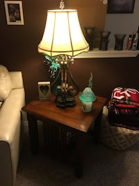 3 Tables $120 and 2 off white table lamps $60 Patrick Afb, 32925