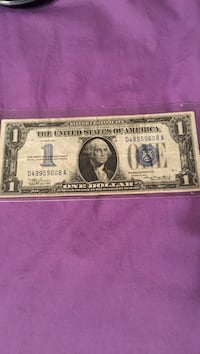 1 Dollar Silver Certificate(Funny)