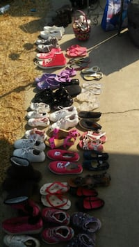 assorted pairs of shoes and sandals San Leandro, 94578