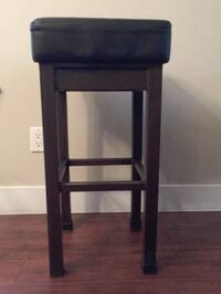 Steel stools with cushion