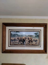 Beautifully framed elephant picture East Wenatchee, 98802