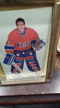 orange and purple dressed ice hockey player photo Montreal, H8S 3P6