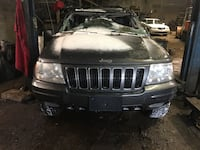 Parting out 2002 Jeep Grand Cherokee Limited 4x4 New Castle, 16101