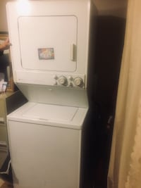 In good shape . Dual washer dryer