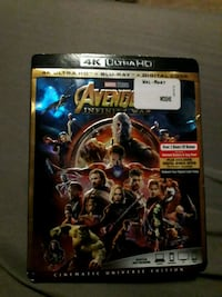 Avengers Infinity war 4k Ultra Blue Ray and  regul Edmonton, T6T 1E8