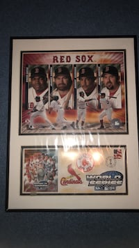 2004 Red Sox World Series Picture Tewksbury, 01876