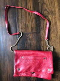 Red shoulder purse/clutch Innisfil, L9S 8G2