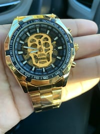 Automatic skeleton watch brand new  752 mi