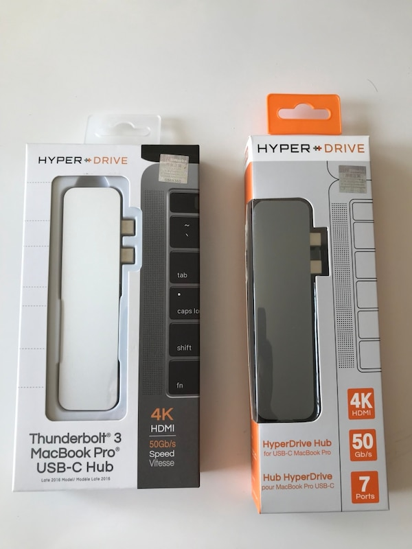 Orijinal HyperDrive Hub Thunderbolt 3 7in1 for MacBook Pro Touch Bar 90fd9748-0851-4f69-a527-5ac98096eed5