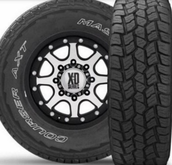 315 70r17 In Inches >> 17 Inch Mastercraft Courser Axt Tires Light Truck Tires Size 315 70r17 155 Brand New All Sizes
