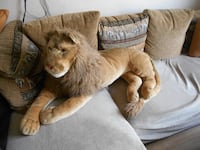 lion en peluche Drancy
