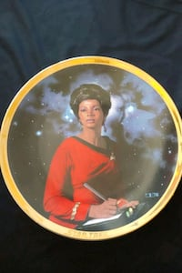 Star Trek TOS Uhura collector plate Mississauga, L4Z 1W3