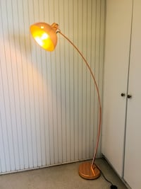 Free Delivery - Copper Arc Lamp with Edison Bulb  Los Angeles, 90026