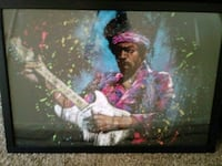 Jimi Hendrix framed picture Newport News, 23601