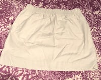 J. Crew Khaki Linen Sidewalk Skirt Washington, 20016