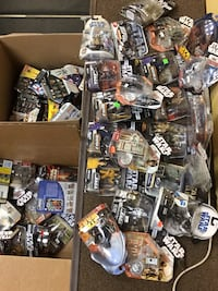 50% off sticker price Star Wars figures