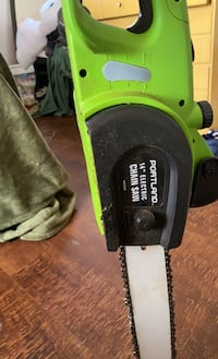 """Tools. Corded chainsaw 14"""""""