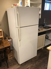 GE fridge.   Excellent condition.  Works great.  Fridge is in use now. Brampton, L6W 2P3