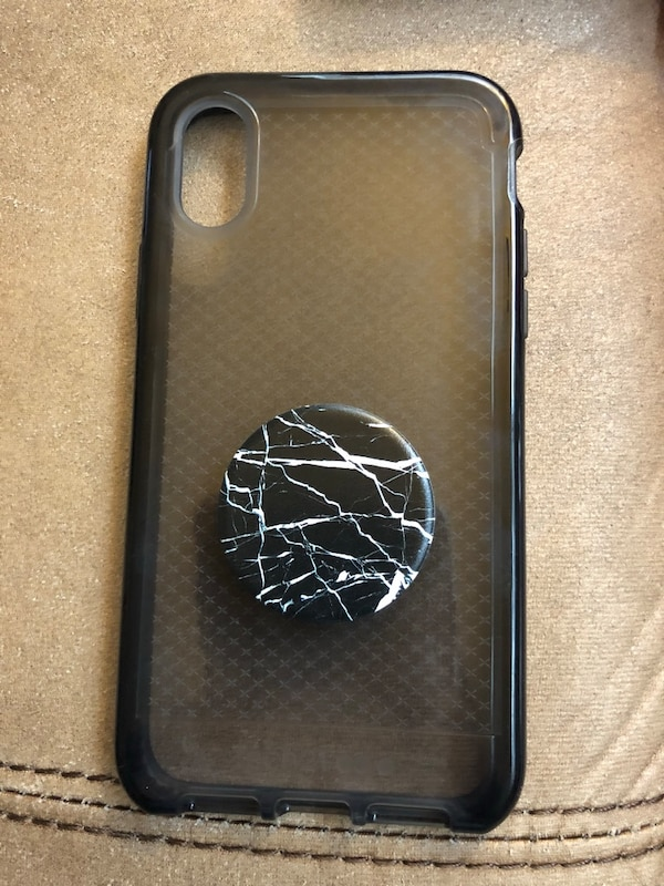 promo code bfd8d 08890 iPhone X tech 21 phone case with popsocket