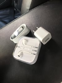 Brand new iPhone charger and EarPods OAKLYN